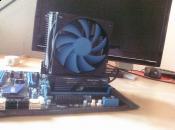 Das MSI P67A-GD65 mit 8GB GEIL RAM und dem Alpenföhn Matterhorn drunter ist ein Intel Core i5-2500K
