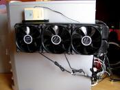 Radiator mit selbstgebauten Funkthermo