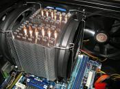 Der CPU-Kühler und seine Lüfter :)