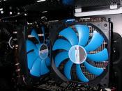 Der grooße Prolimatech Genesis CPU-/MOSFET-/RAM-Kühler