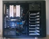Sideview of PC inside