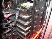 Mittlerweile 6 Platten im Käfig  alle HDD´s = 5,95 TB Speicherkapazität