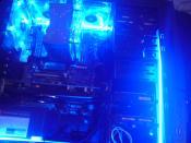 Schik wird es wenn das licht im raum aus bzw im Rechner an geht