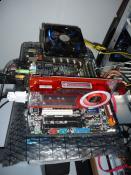 07/2009 - Temperaturcheck kurz vor dem Tausch des CPU-Kühlers