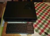 Silverstone Milo ML03 Black & Logitech Wireless Touch Keyboard K400