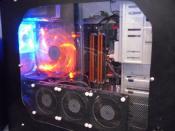 PC ohne Zusatzbeleuchtung