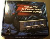 Phobya TPC 30 Watt pro Kanal, das sollte reichen für ein paar Lüfter