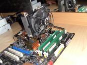 Mein CPU-Kühler und Rams!!