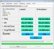 Die Crucial m4 64GB   AS SSD Benchmark vom 13.01.2014