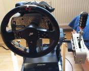 Simracing: Lenkrad: Fanatec Elite, Shifter/Handbrake: Thrustmaster/Sparco TSS