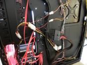 Cable Management (hinten)