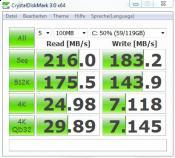 Samsung SSD 128GB, RST 9.6.4