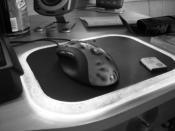Mein beleuchtetes Mauspad und meine MX 518