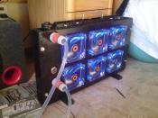 Wasserkühler (War mal ein Autokühler selbst umgebaut)