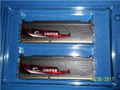 16-GB Kit G.Skill Sniper DDR3-SDRAM (PC3-14900H) / CL 9.0-10-9-28 CR2.