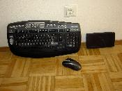 MS Tastatur, Maus und freecom 160 HDD