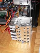 Alle HDD's eingebaut (1750GB)