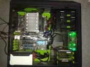 Noch mehr Grün, mit einem Hauch von Blau und Silber :)
