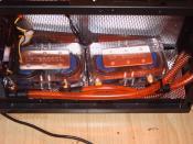 Der Pumpenraum ;-) 2 x Laing DCC Dual = 4 Laing Pumpen