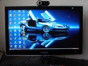 mein neuer Monitor