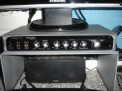 Das Soundpanel der X-Fi. Darunter noch die Center-Box