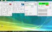 @ 4,56GHz (FSB:DRAM 12:11) Stresstest / Speedfan / CPU-Z / GPU-Z (lauter durch hohe Drezahl des CPU-Kühlers und relativ hohe Kerntemperaturen). (Oc. immer auf eigene Gefahr!)