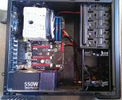 Hardware von Innen (Grafikkarte momentan ausgebaut)