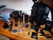 Meine DSLR Ausrüstung / Sony Alpha 580 :)