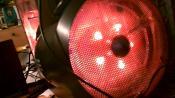 Der 250mm Frotlüfter, ändert auch die Farbe