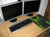 Monitor(e), Tastatur,...