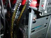 genutzter CPU Lüfter (türkis)