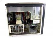 Lian Li PC-8 SE-B Seitlich Offen