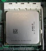 Einer der zwei CPUs
