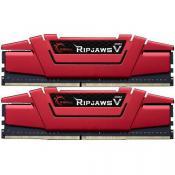 32 GB G.Skill RipJaws V rot DDR4-3200 DIMM CL14 Dual Kit