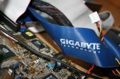 Ich hab das IDE-Kabel von meinem Gigabyte-Board genommen :-)