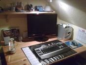 Der gesamte Schreibtisch