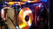 Innenansicht CPU-Bereich mit RAM-Bänken #2