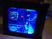 PC mit Licht