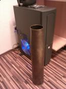 Geiler Akasa® AK-F2230SM-CB Lüfter 220mm mit LED's....Schiebt jede menge Luft in mein Tower :P