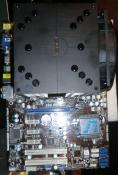 CPU Kühler fertig Montiert auf Mainboard