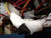 Schalter wechselt von 5V zu 7V für den Gehäuselüfter