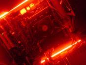 PC von innen etwas verdunkelt