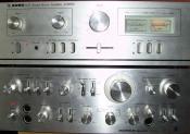 Stereovertärker zum Musik hören und Mitbewohner ärgern^^(sind zwar schon steinalt tuns aber noch)