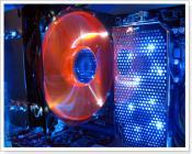 Xigmatek RED SCORPION-S1283 und OCZ XTC Memory Airflow Cooler