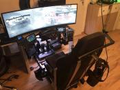 SimSeat an Gaming Station