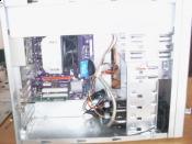 Rechner von Innen. Verkabelung nich ganz soo Perfekt