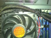 CPU-Kühler und Speicher