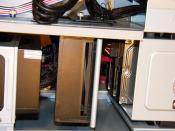 3) Netzteil, Lüfter & Festplatten (mittlerweile 4 HDD's)
