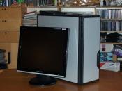 Computer + Bildschirm