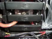 Die Laing Pumpe wurde mit einigem Aufwand in einen der HD Halterungen des Haf 932 eingebaut und endkoppelt.